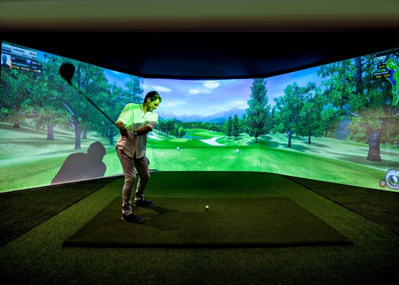 InterContinental Hayman Island Resort - Whitsunday Islands, Australia - Golf Simulator