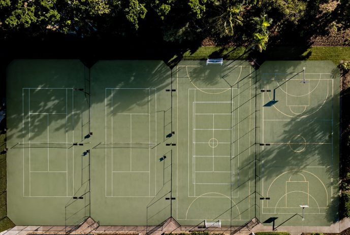 InterContinental Hayman Island Resort - Whitsunday Islands, Australia - Recreation Courts