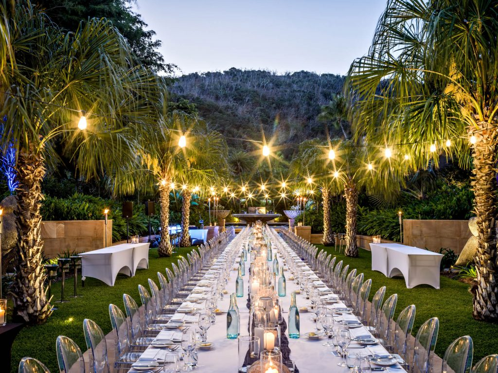 InterContinental Hayman Island Resort - Whitsunday Islands, Australia - Formal Garden Banquet