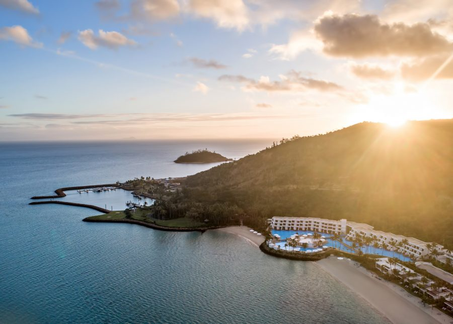 InterContinental Hayman Island Resort - Whitsunday Islands, Australia - Resort Sunset