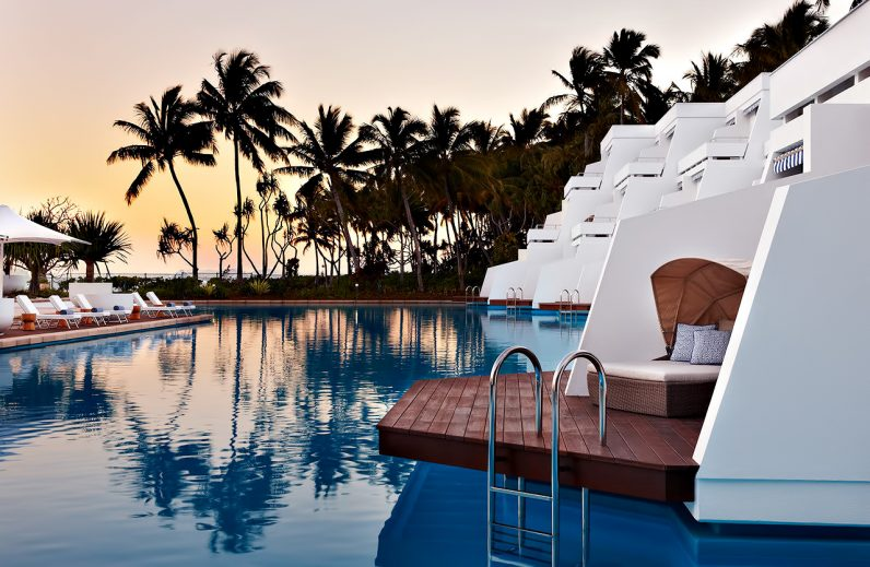 InterContinental Hayman Island Resort - Whitsunday Islands, Australia - Resort Poolside Dusk