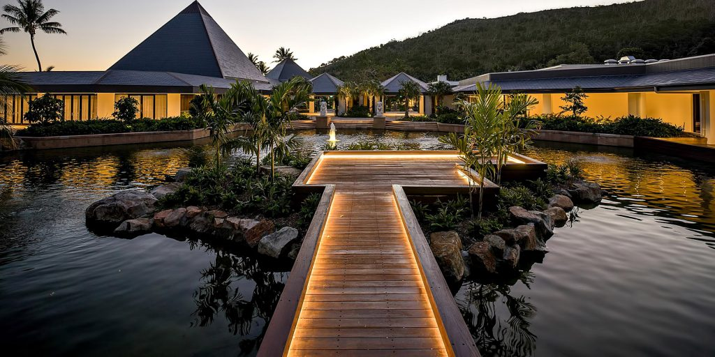 InterContinental Hayman Island Resort - Whitsunday Islands, Australia - Resort Dusk