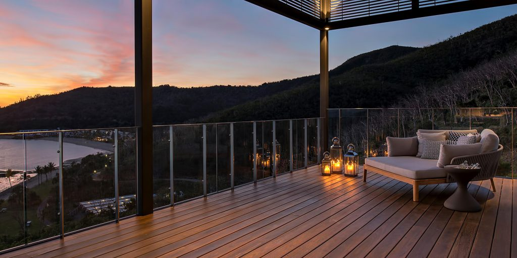 InterContinental Hayman Island Resort - Whitsunday Islands, Australia - Hayman Estate Deck Sunset