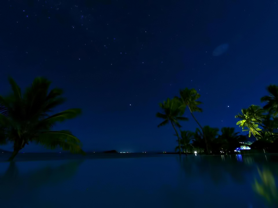 InterContinental Hayman Island Resort - Whitsunday Islands, Australia - Starlight Resort Pool Night View