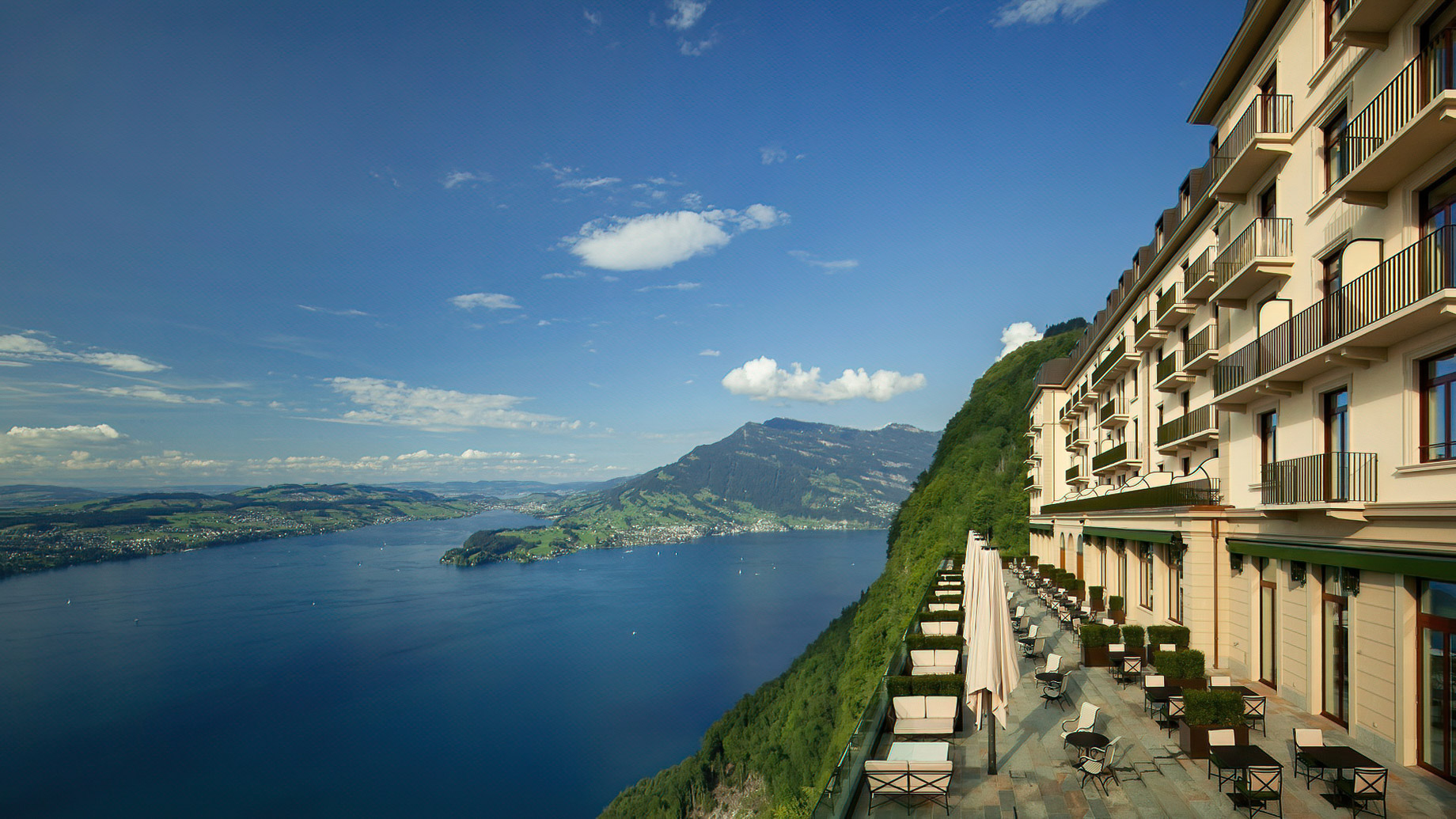 Palace Hotel - Burgenstock Hotels & Resort - Obburgen, Switzerland