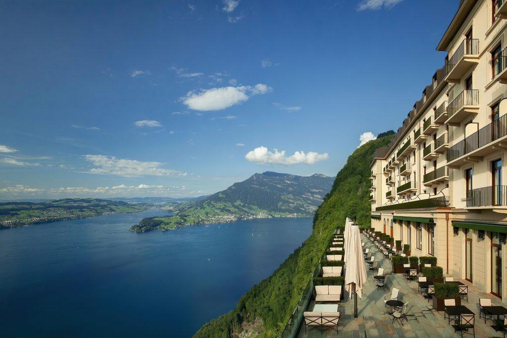 Palace Hotel - Burgenstock Hotels & Resort - Obburgen, Switzerland - Lake Lucerne