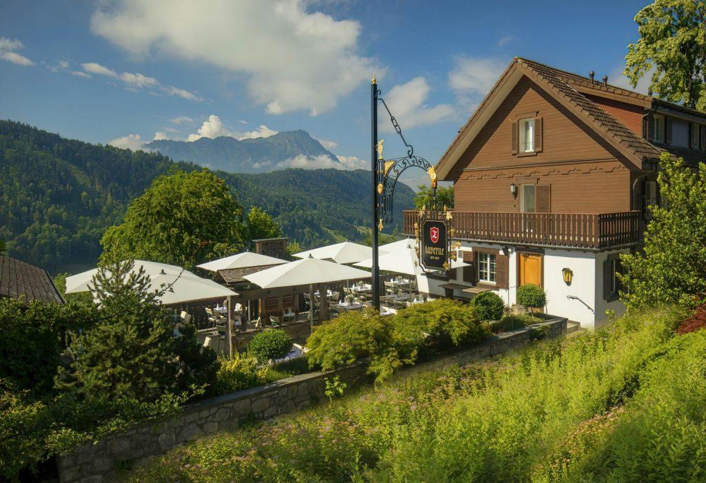 Taverne 1879 - Burgenstock Hotels & Resort - Obburgen, Switzerland - Exterior Terrace