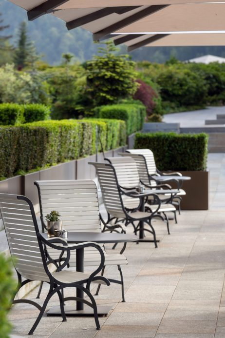 Palace Hotel - Burgenstock Hotels & Resort - Obburgen, Switzerland - Terrace