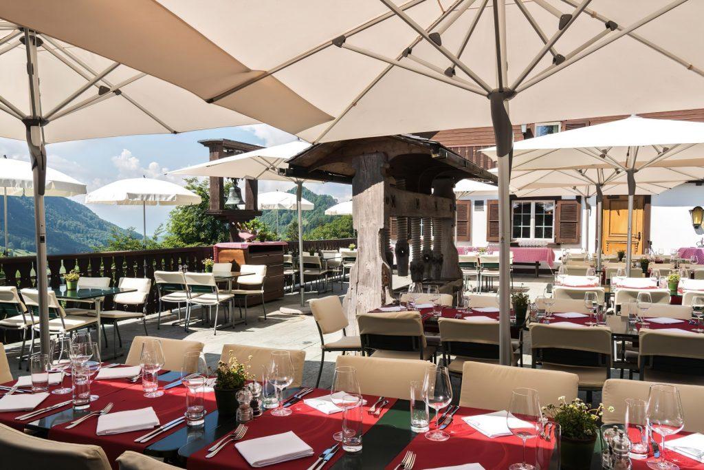 Taverne 1879 - Burgenstock Hotels & Resort - Obburgen, Switzerland - Terrace Restaurant