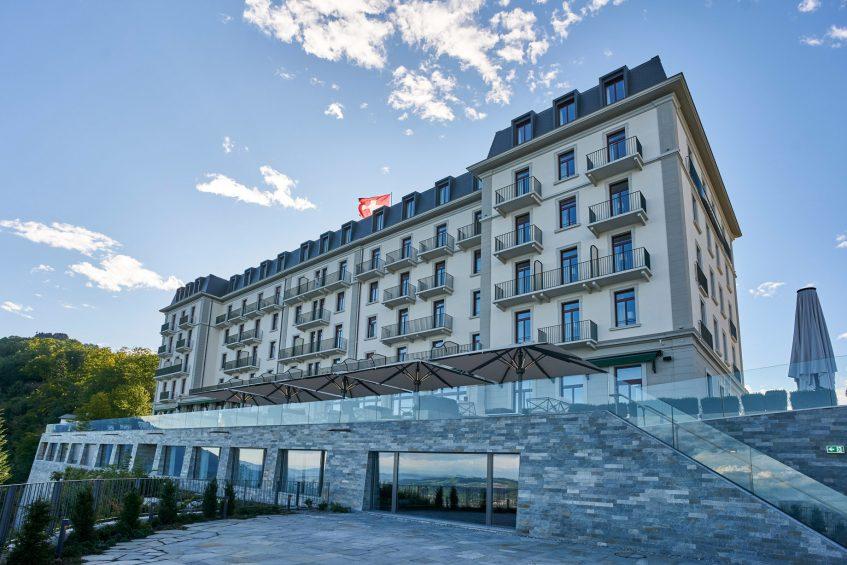 Palace Hotel - Burgenstock Hotels & Resort - Obburgen, Switzerland - Hotel Exterior