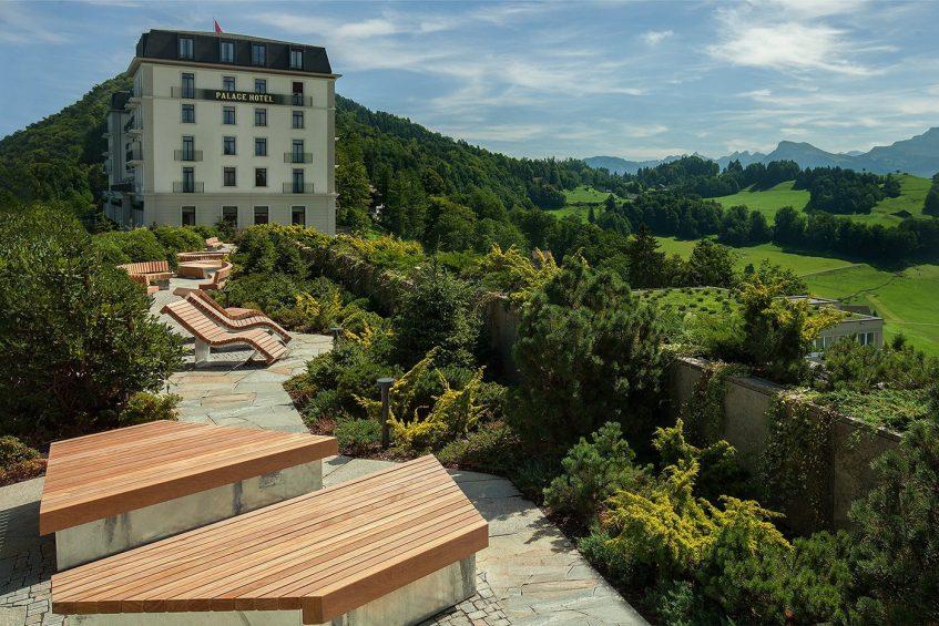 Palace Hotel - Burgenstock Hotels & Resort - Obburgen, Switzerland - Hotel Mountain View