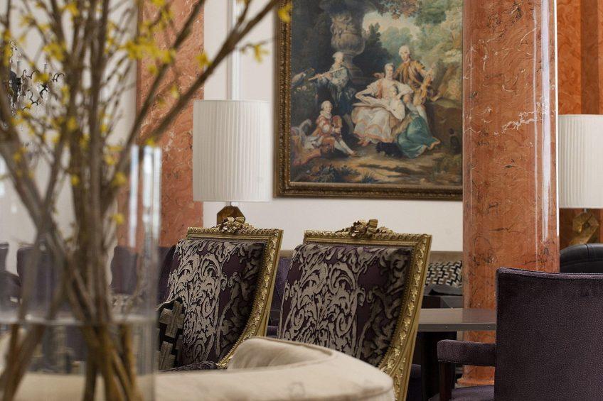 Palace Hotel - Burgenstock Hotels & Resort - Obburgen, Switzerland - Hotel Lounge