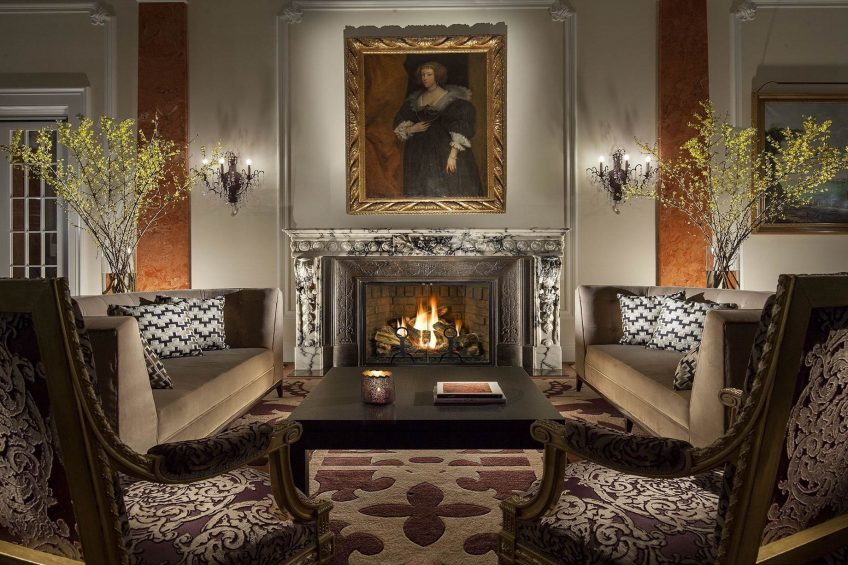Palace Hotel - Burgenstock Hotels & Resort - Obburgen, Switzerland - Palace Lounge