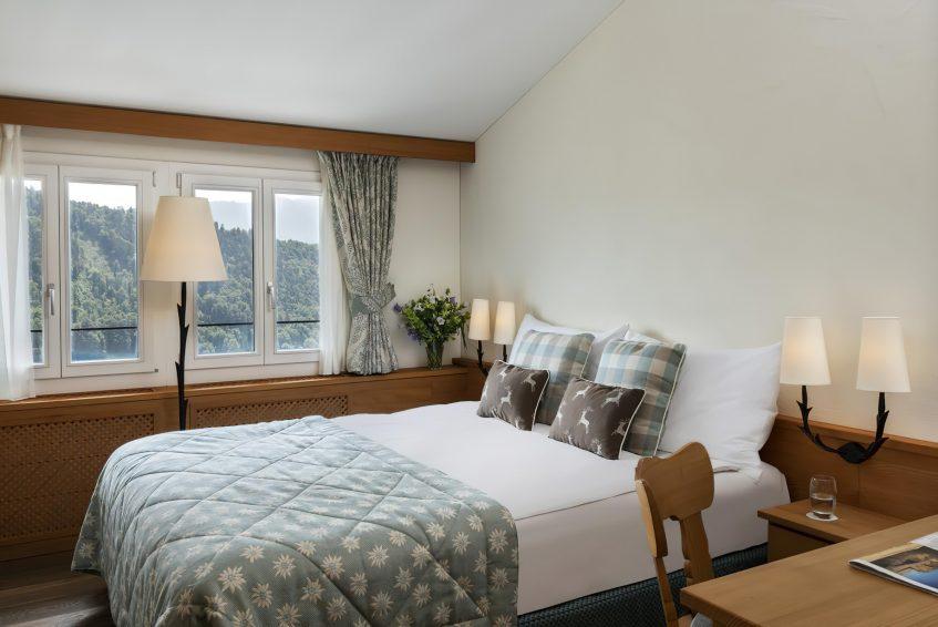 Taverne 1879 - Burgenstock Hotels & Resort - Obburgen, Switzerland - Bedroom