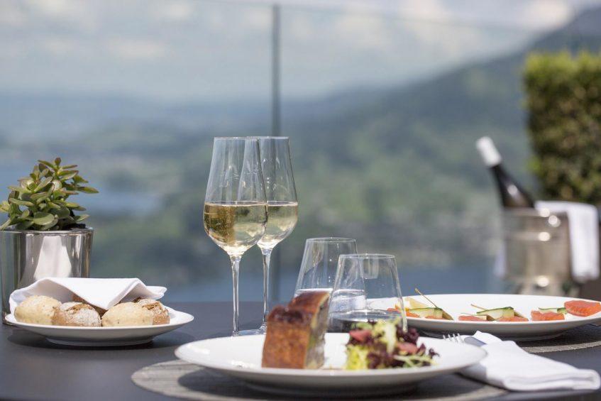 Palace Hotel - Burgenstock Hotels & Resort - Obburgen, Switzerland - Terrace Dining