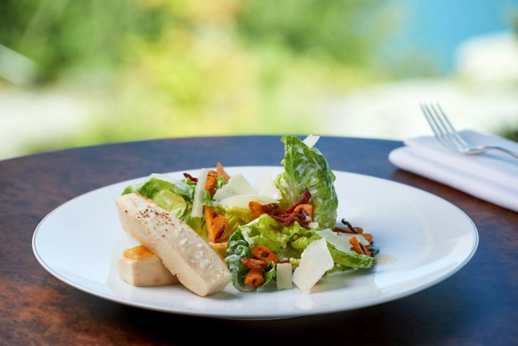 Palace Hotel - Burgenstock Hotels & Resort - Obburgen, Switzerland - Lounge Gourmet Salad