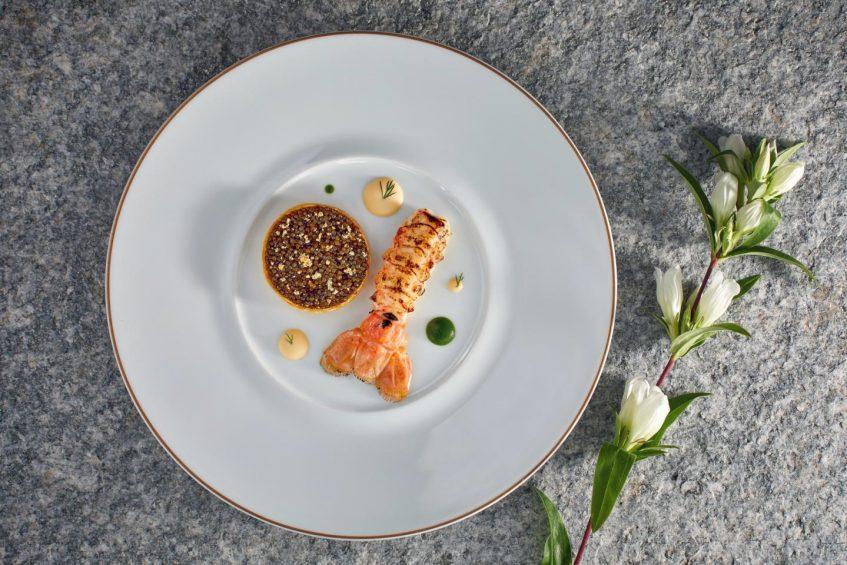 Palace Hotel - Burgenstock Hotels & Resort - Obburgen, Switzerland - Signature Lobster Dish