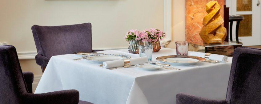 Palace Hotel - Burgenstock Hotels & Resort - Obburgen, Switzerland - Table Setting