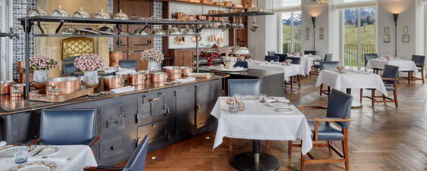 Palace Hotel - Burgenstock Hotels & Resort - Obburgen, Switzerland - Ritzcoffier Restaurant