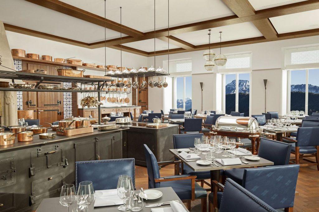 Palace Hotel - Burgenstock Hotels & Resort - Obburgen, Switzerland - Ritzcoffier Michelin Star Award Restaurant