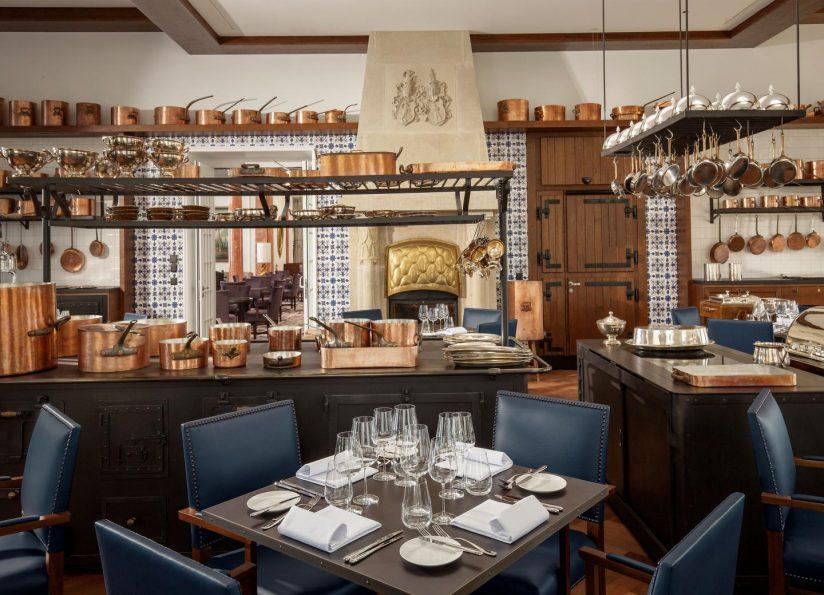 Palace Hotel - Burgenstock Hotels & Resort - Obburgen, Switzerland - Ritzcoffier Michelin Star Awarded Restaurant