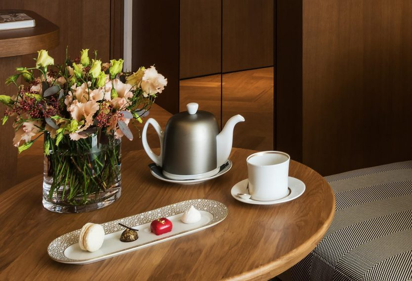 Palace Hotel - Burgenstock Hotels & Resort - Obburgen, Switzerland - Deluxe Alpine View Room Coffee Service