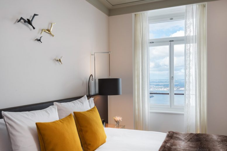 Palace Hotel - Burgenstock Hotels & Resort - Obburgen, Switzerland - Executive Room Lake View Bedroom Window