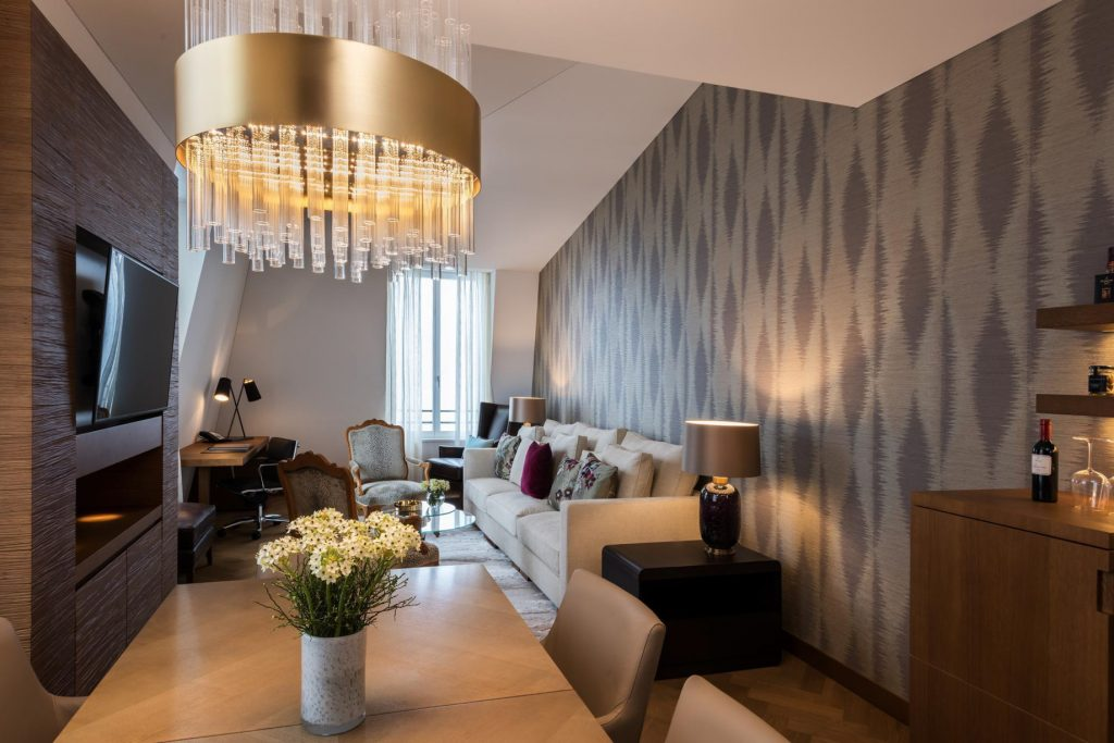 Palace Hotel - Burgenstock Hotels & Resort - Obburgen, Switzerland - Palace Grand Suite