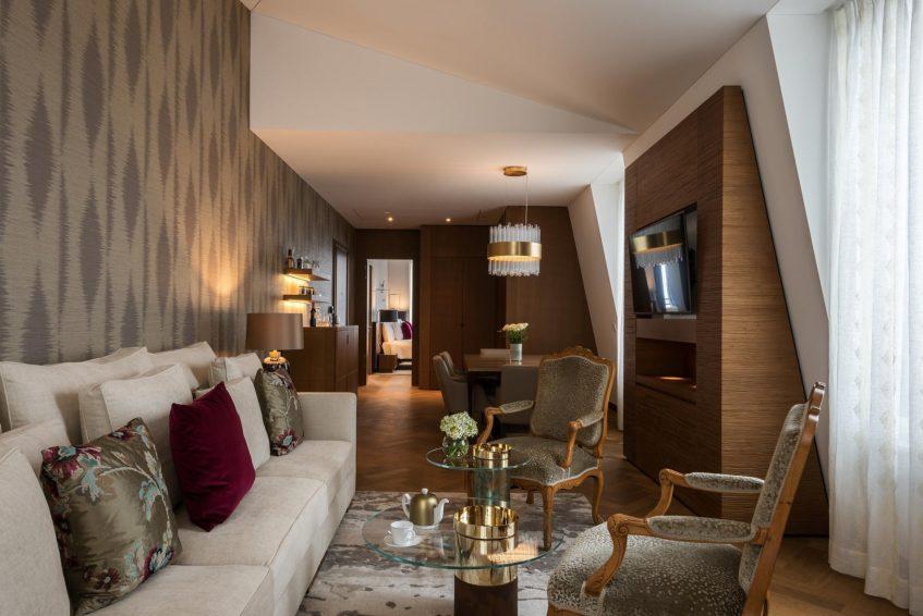 Palace Hotel - Burgenstock Hotels & Resort - Obburgen, Switzerland - Palace Grand Suite Living Room
