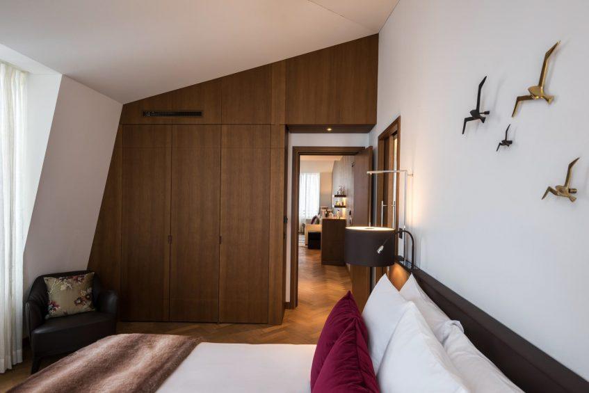 Palace Hotel - Burgenstock Hotels & Resort - Obburgen, Switzerland - Palace Grand Suite Bedroom