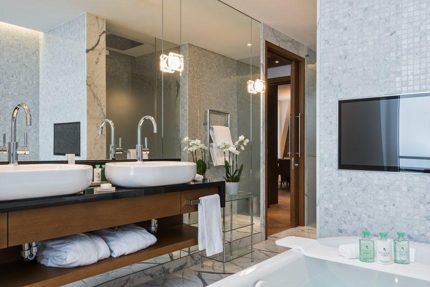 Palace Hotel - Burgenstock Hotels & Resort - Obburgen, Switzerland - Palace Grand Suite Bathroom