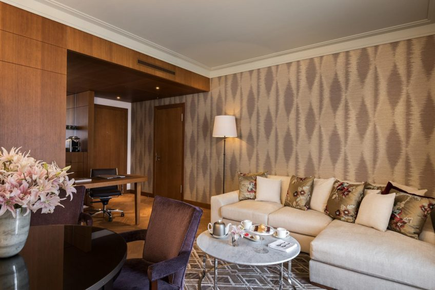 Palace Hotel - Burgenstock Hotels & Resort - Obburgen, Switzerland - Palace Grand Lakeview Suite