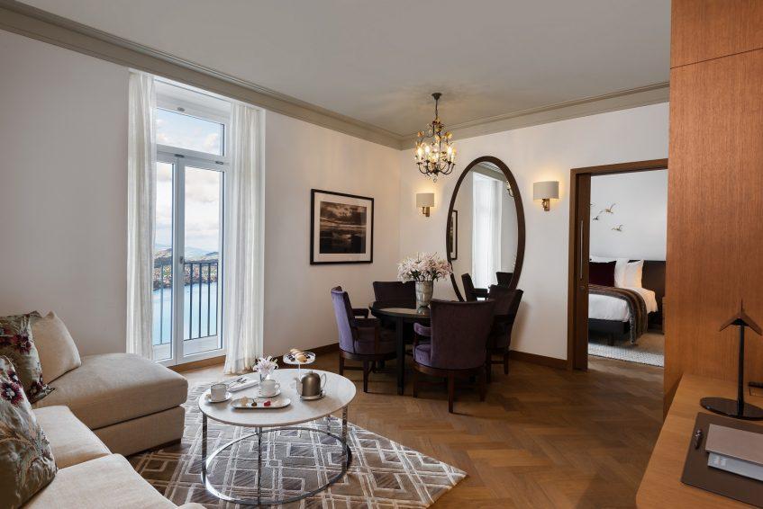 Palace Hotel - Burgenstock Hotels & Resort - Obburgen, Switzerland - Palace Lakeview Suite