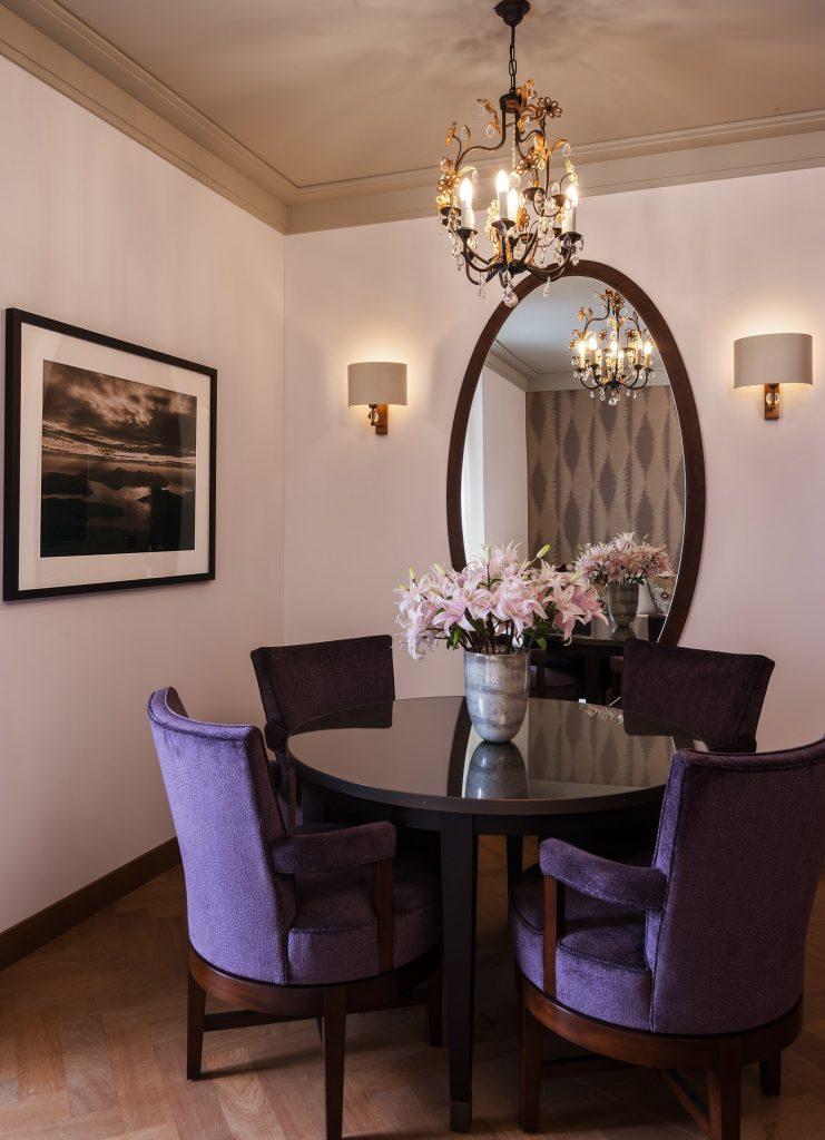 Palace Hotel - Burgenstock Hotels & Resort - Obburgen, Switzerland - Palace Lakeview Suite Table