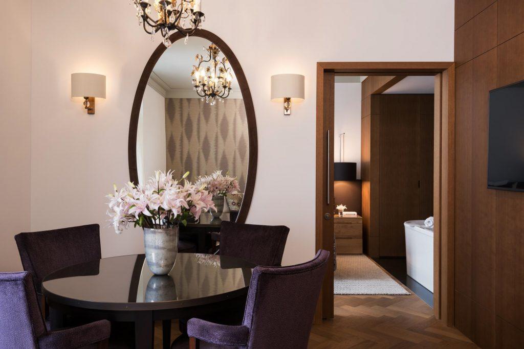 Palace Hotel - Burgenstock Hotels & Resort - Obburgen, Switzerland - Palace Lakeview Suite Bedroom View