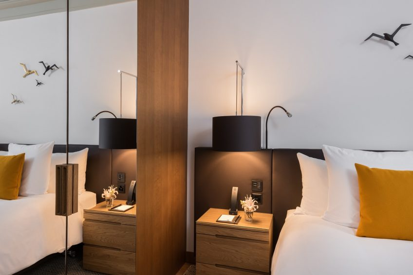 Palace Hotel - Burgenstock Hotels & Resort - Obburgen, Switzerland - Superior Room Lake View Bed