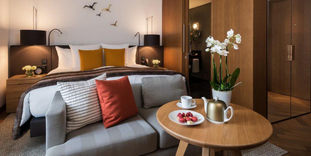 Palace Hotel - Burgenstock Hotels & Resort - Obburgen, Switzerland - Superior Room Lake View Coffee Service