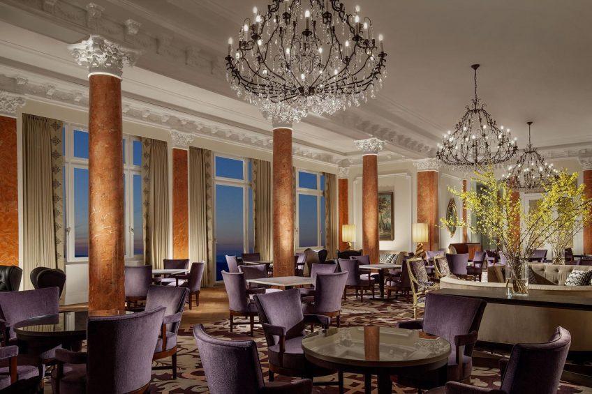 Palace Hotel - Burgenstock Hotels & Resort - Obburgen, Switzerland - Salon 1903 Palace Lounge Dining