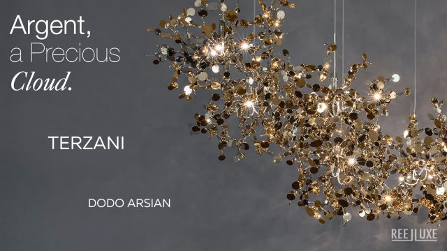 Argent, a Precious Cloud of Light by Terzani Lighting Italy - Dodo Arslan