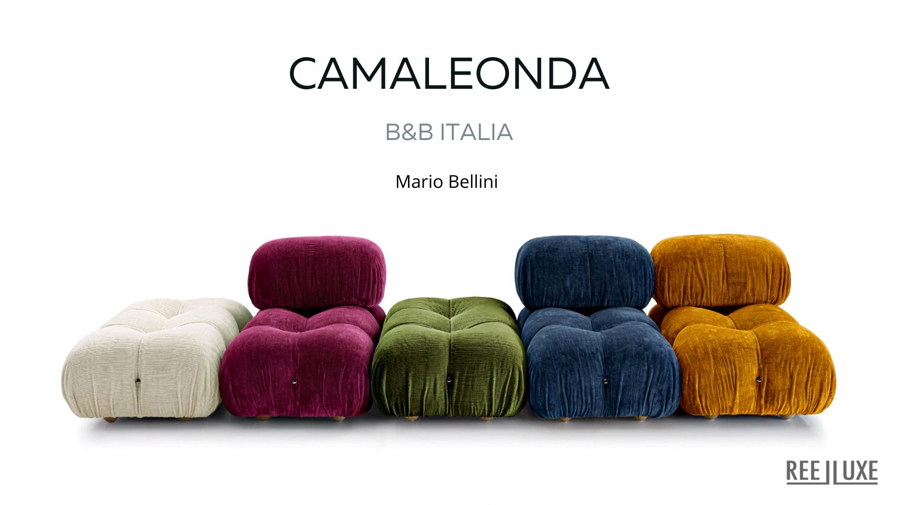 Camaleonda Classic Sofa Collection B&B Italia - Mario Bellini