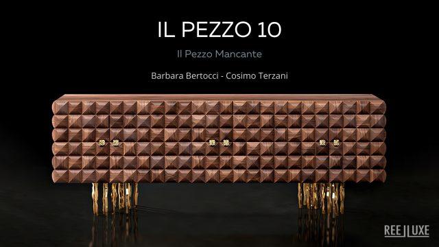 Il Pezzo 10 Credenza, Console, Dresser Collection - Il Pezzo Mancante