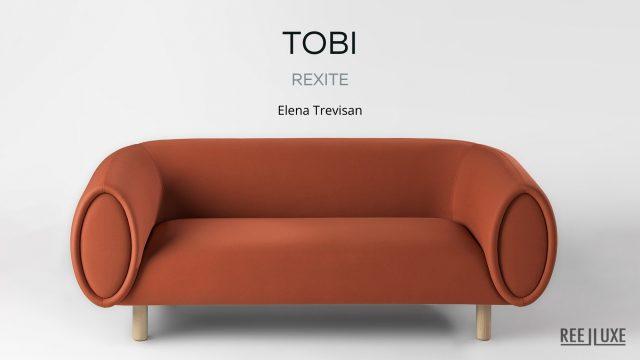 Tobi, an Iconic Sofa Design with Zen Rexite Italy - Elena Trevisan