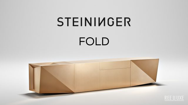 FOLD Iconic Origami Kitchen Block Design - Martin Steininger