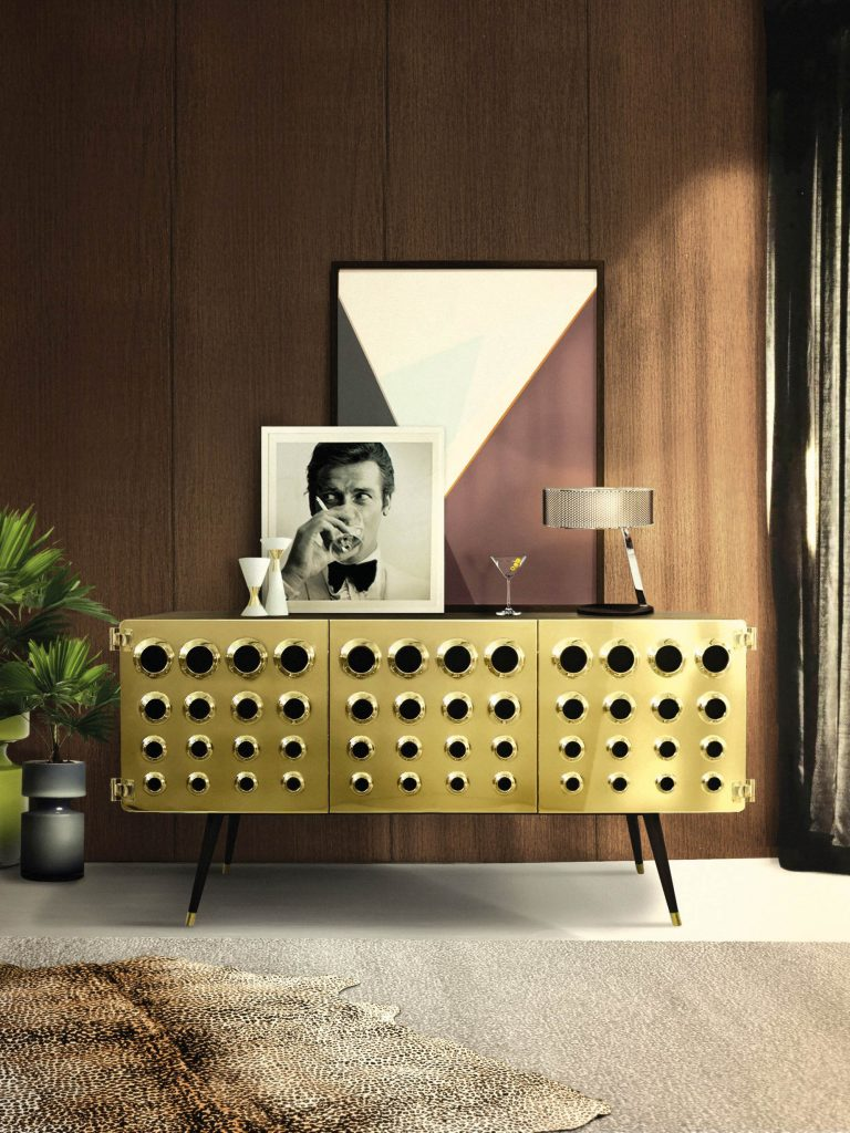 MONOCLES Sideboard Credenza - Essential Home - James Bond Midcentury Modern Style - Diogo Carvalho