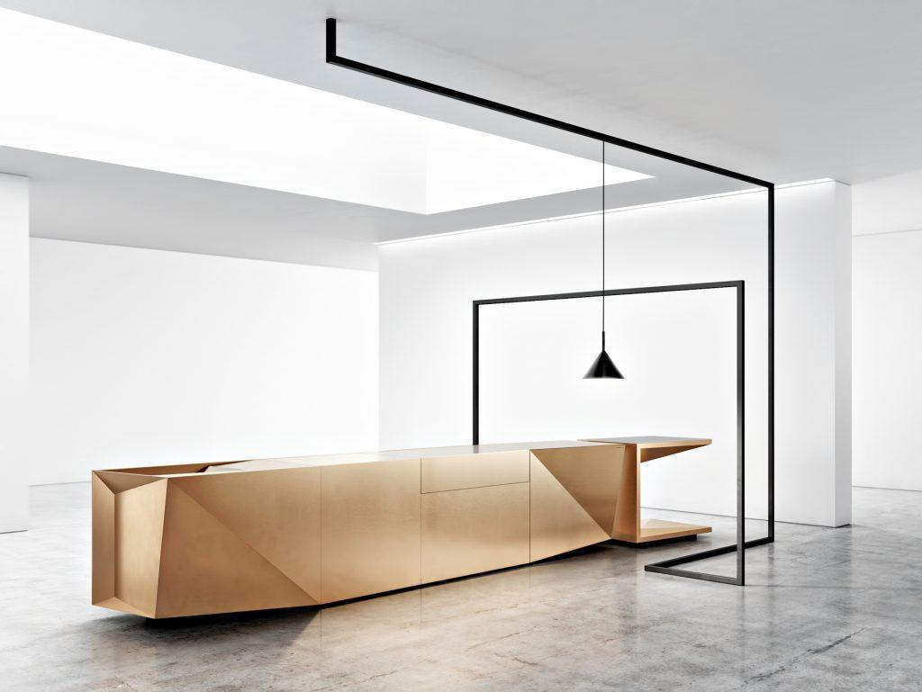 FOLD Iconic Origami Kitchen Block Design - Martin Steininger - Iconic kitchen block
