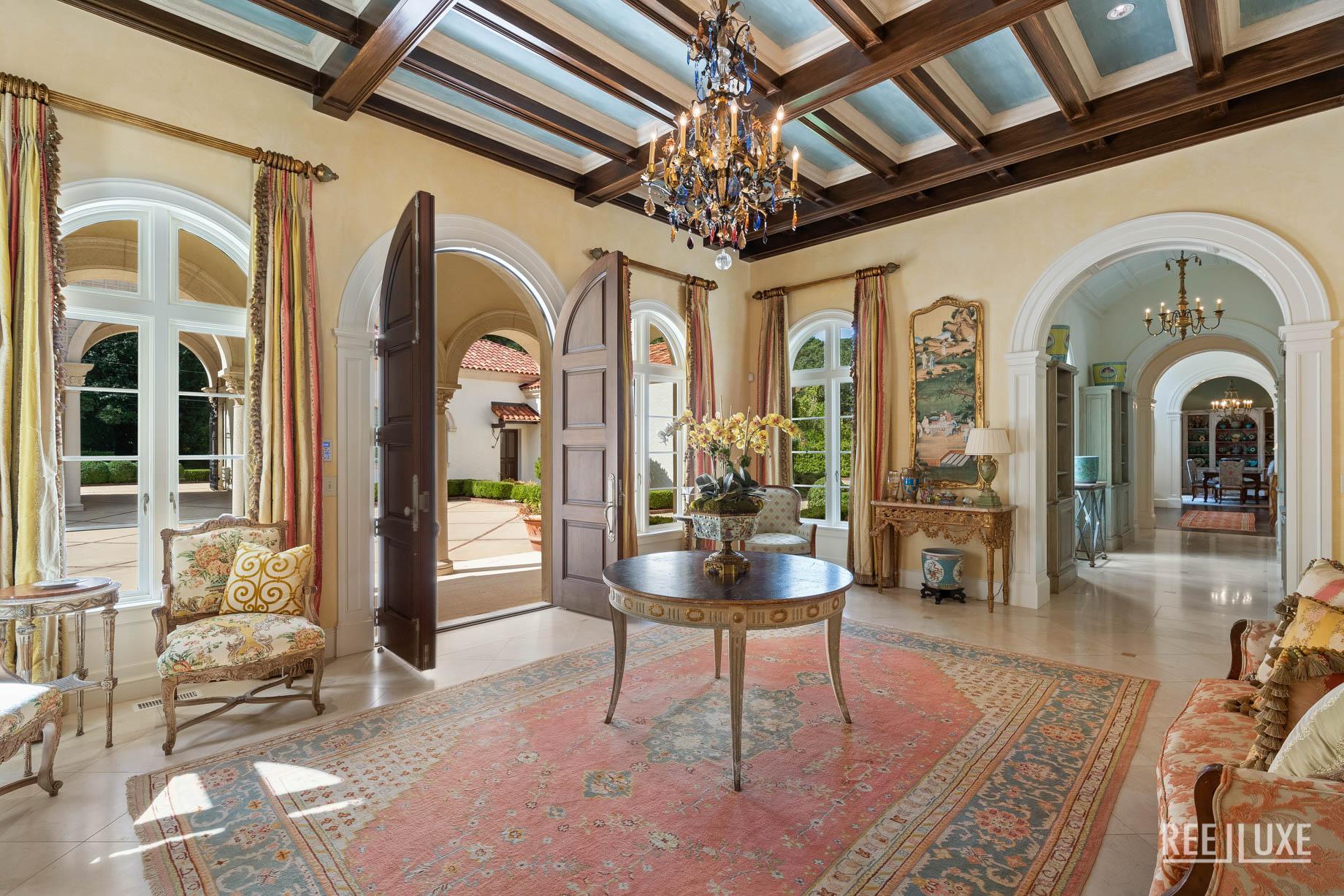 Exquisite Mediterranean Luxury Estate - 439 Blackland Rd NW, Atlanta, GA, USA