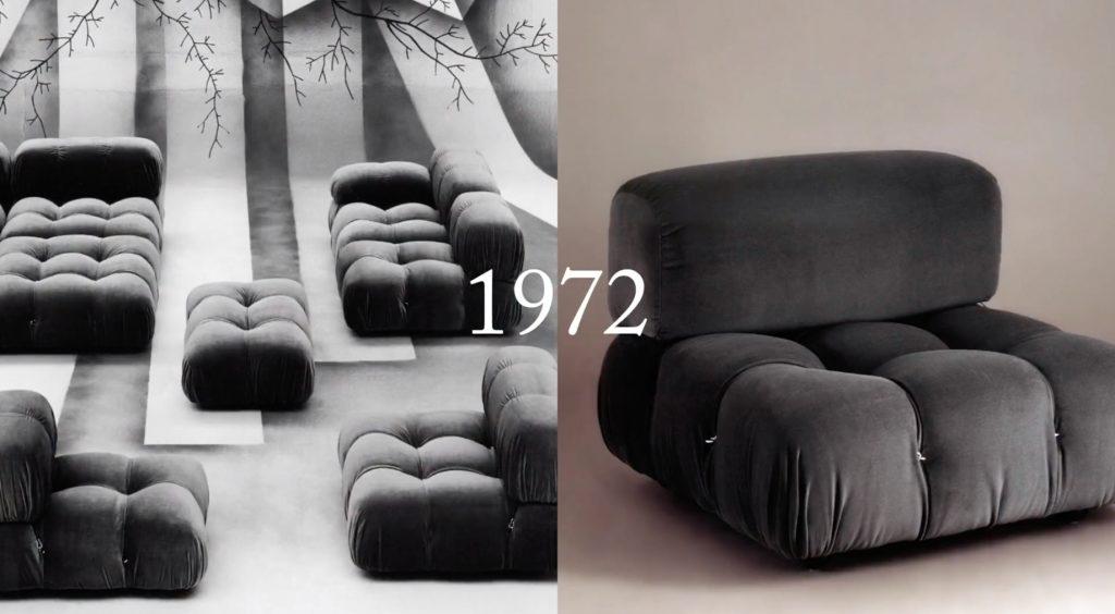 Camaleonda Classic Sofa Collection B&B Italia - Mario Bellini - 1972