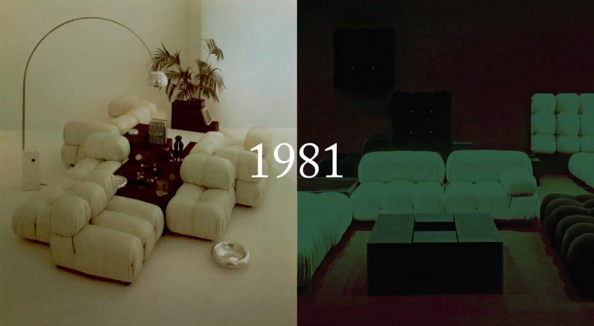 Camaleonda Classic Sofa Collection B&B Italia - Mario Bellini - 1981