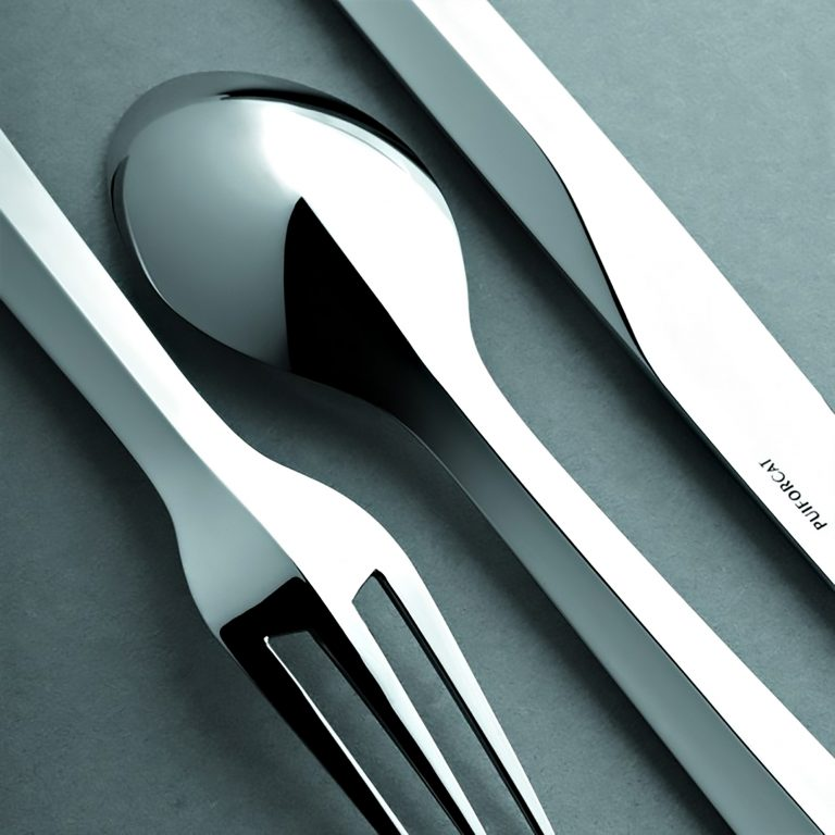 Zermatt Stainless Steel Cutlery Collection Puiforcat Paris – Patrick Jouin