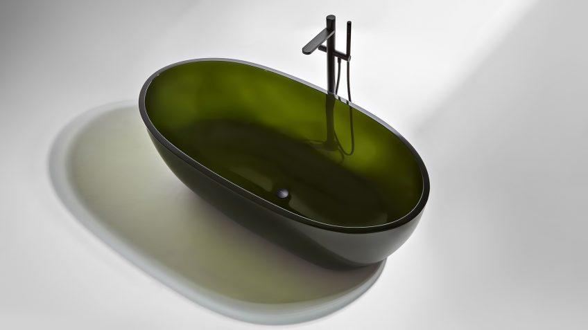 REFLEX Cristalmood Transparent Bathtub AL Studio - Antonio Lupi - Oleo
